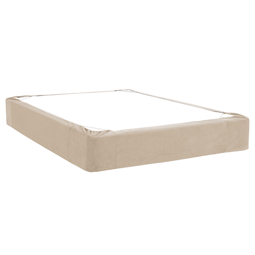 Bella Sand Queen Boxspring Cover