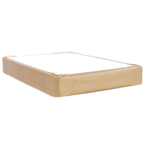 Luxe Gold Queen Boxspring Cover