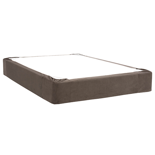 Bella Pewter King Boxspring Cover