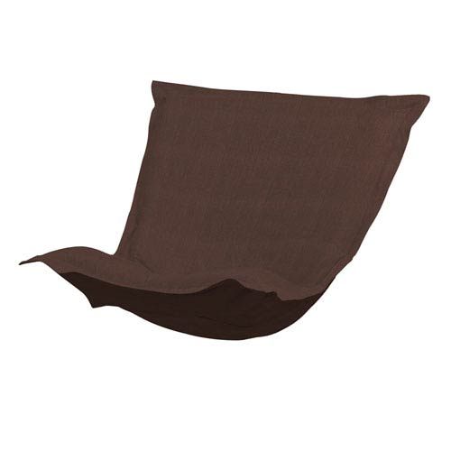Howard Elliott Collection Sterling Chocolate Puff Chair Cushion