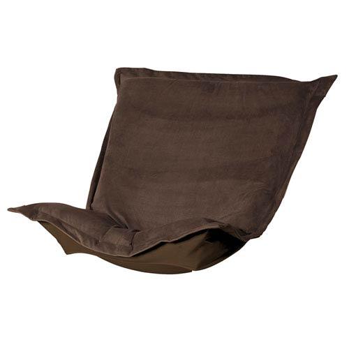 Bella Chocolate Puff Chair Cushion