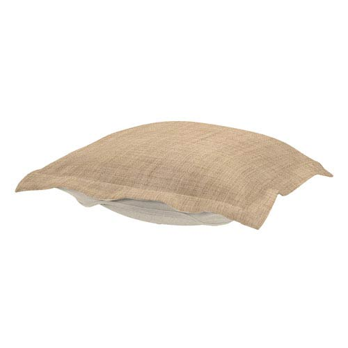 Howard Elliott Collection Coco Stone Puff Ottoman Cushion