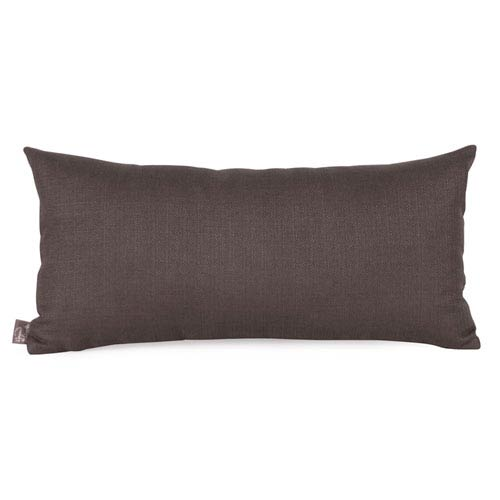 Sterling Charcoal Kidney Pillow with Down Insert