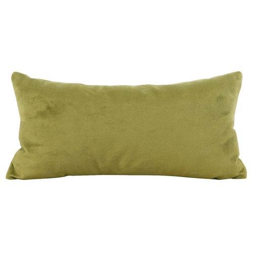 Bella Moss Kidney Pillow with Down Insert