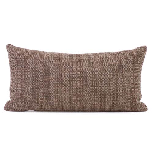 Howard Elliott Collection Coco Slate Kidney Pillow with Down Insert