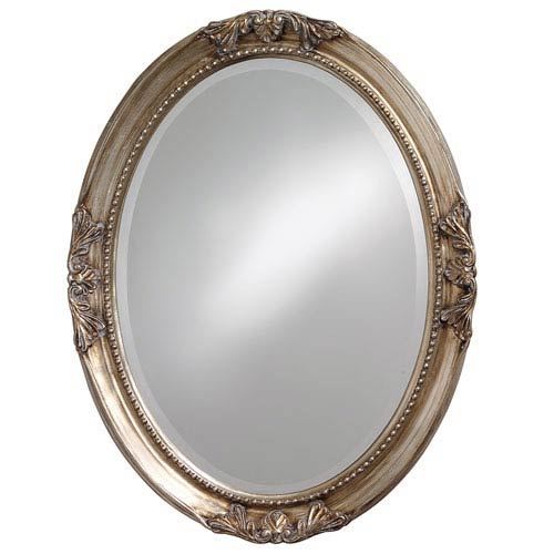 Oval Antique Mirror | Bellacor