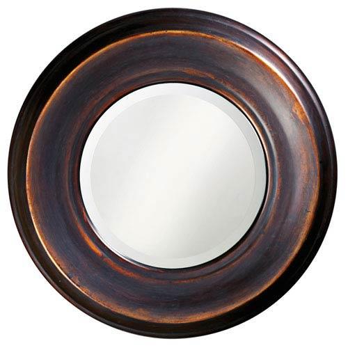 Dublin Bronze Round Mirror