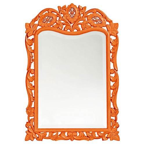 St. Augustine Orange Rectangle Mirror
