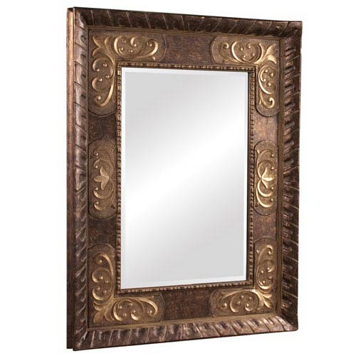 Tate Wood Small Rectangle Mirror