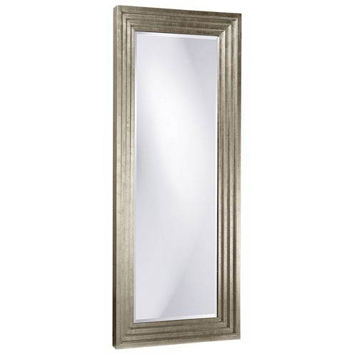 Howard Elliott Collection Delano Silver Tall Rectangle Mirror