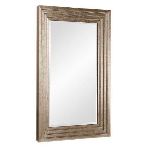 Howard Elliott Collection Delano Silver Small Rectangle Mirror