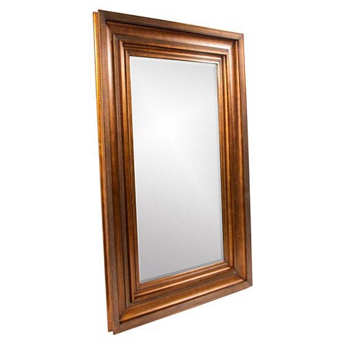 Howard Elliott Collection Baxter Antique Gold Rectangle Mirror