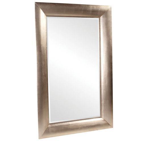 Howard Elliott Collection Barron Silver Leaf Rectangle Mirror