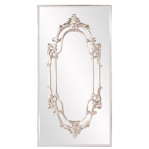 Howard Elliott Collection Akira Bright Silver Lead Mirror