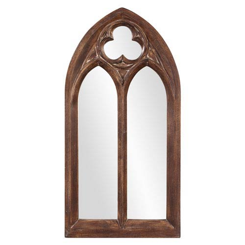Basilica Tuscan Brown Mirror