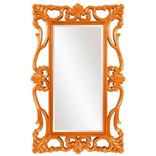 Whittington Orange Mirror