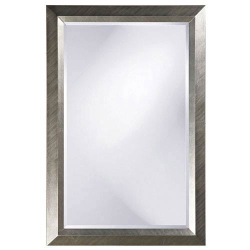 Howard Elliott Collection Avery Silver 2-Inch Large Rectangle Mirror