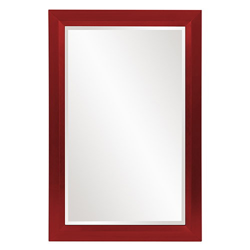 Avery Glossy Red Mirror