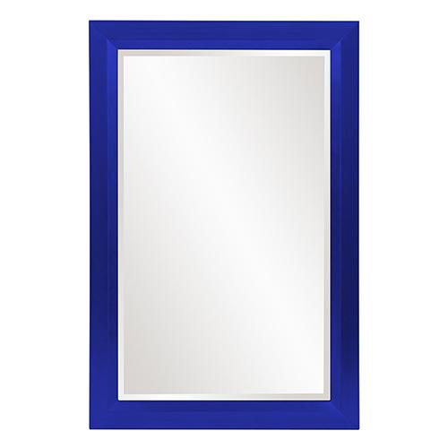 Avery Glossy Royal Blue Mirror
