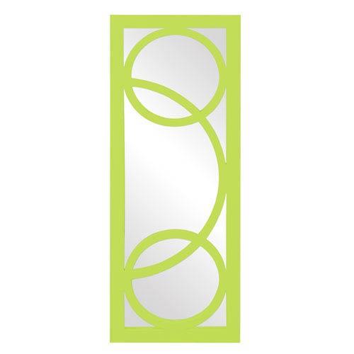 Dynasty Green Rectangle Mirror