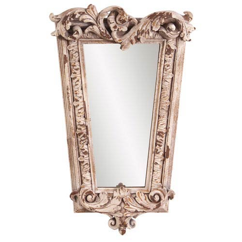 Howard Elliott Collection Noelle Rustic Stone Mirror