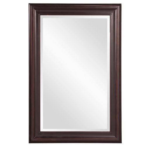 Howard Elliott Collection George Oil Rubbed Bronze Rectangle Mirror