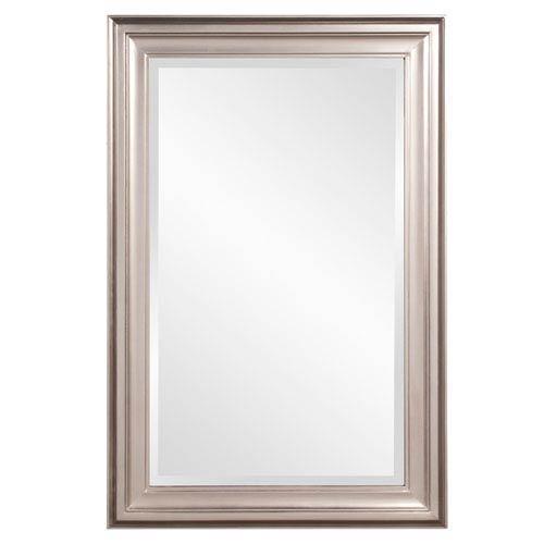 George Bright Nickel Rectangle Mirror