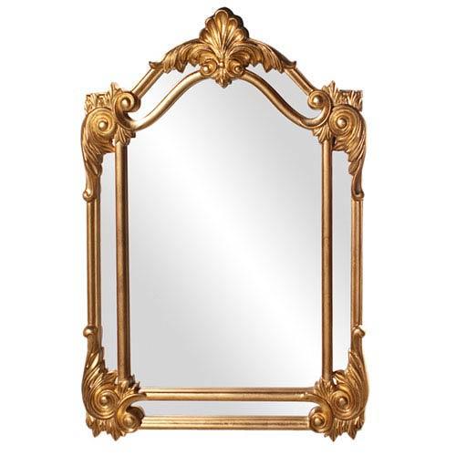 Cortland Gold Rectangle Mirror
