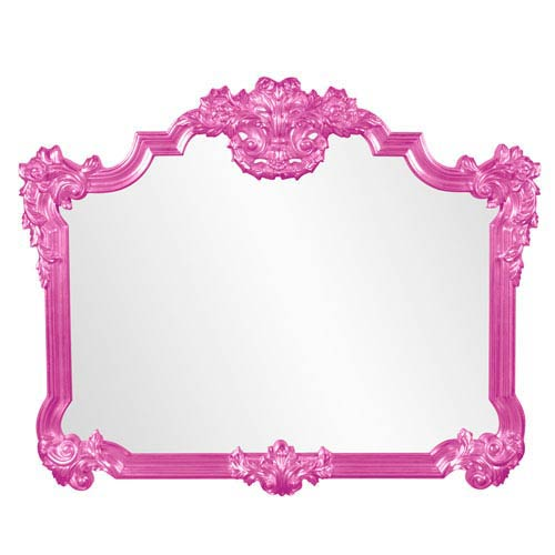 Avondale Hot Pink Mirror