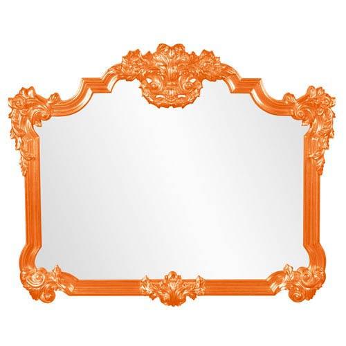 Avondale Orange Mirror