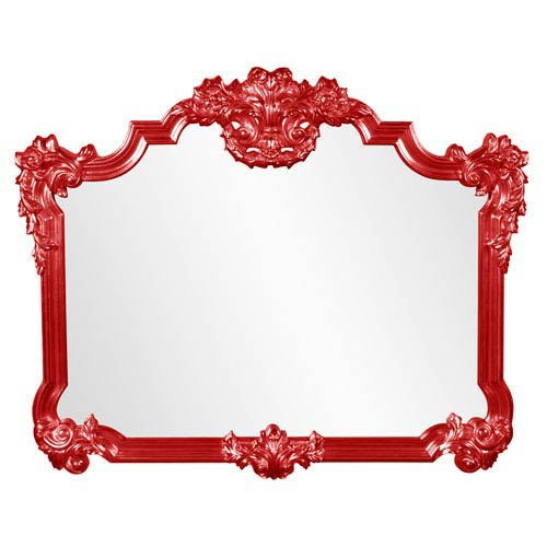 Avondale Red Mirror