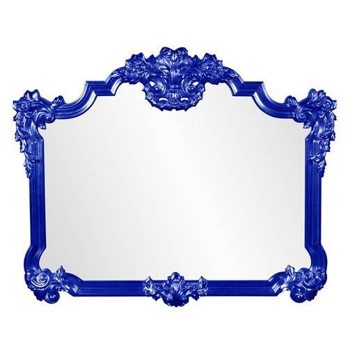 Avondale Royal Blue Mirror