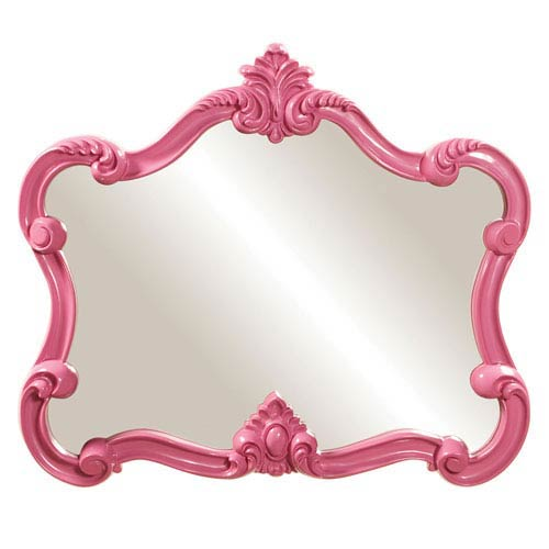Veruca Pink 2-Inch Rectangle Mirror