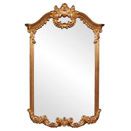 Howard Elliott Collection Roman Gold Rectangle Mirror