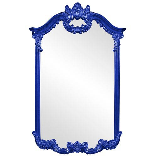 Roman Royal Blue Mirror