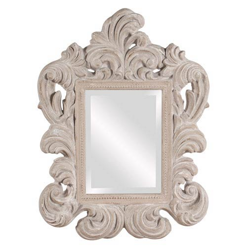 Lucille Antique Gray Mirror