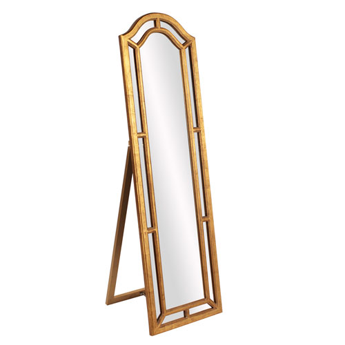 Mark Gold Leaner Mirror