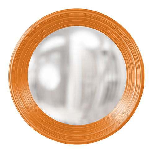 Silas Glossy Orange Mirror