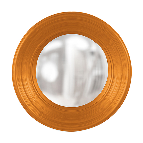 Rex Glossy Orange Mirror