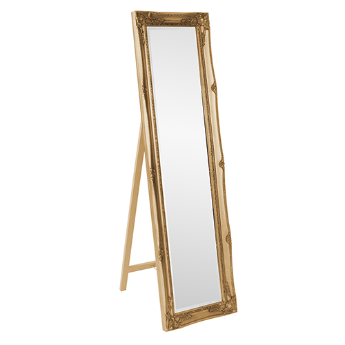 Queen Ann Standing Mirror