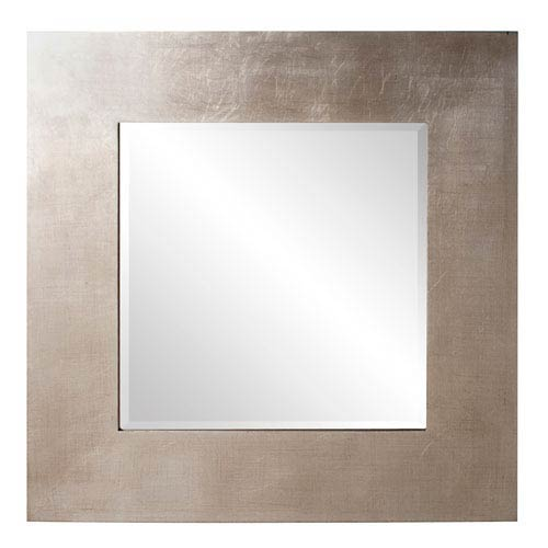 Howard Elliott Collection Sonic Silver 1-Inch Square Mirror