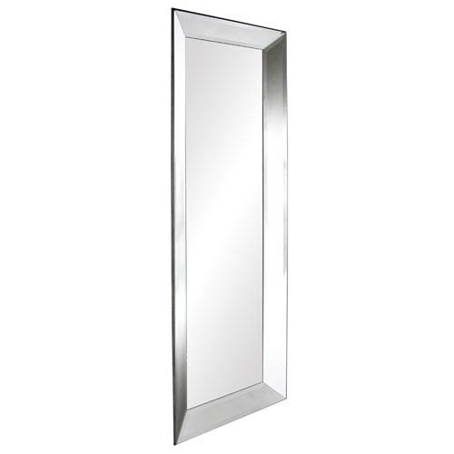Vogue Transparent Modern Rectangle Mirror