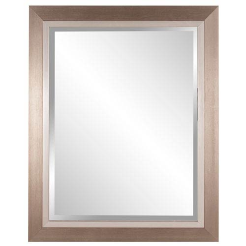 Howard Elliott Collection Brushed Silver Rectangle Mirror