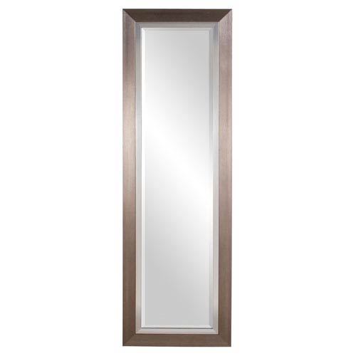 Howard Elliott Collection Brushed Silver Tall Rectangle Mirror