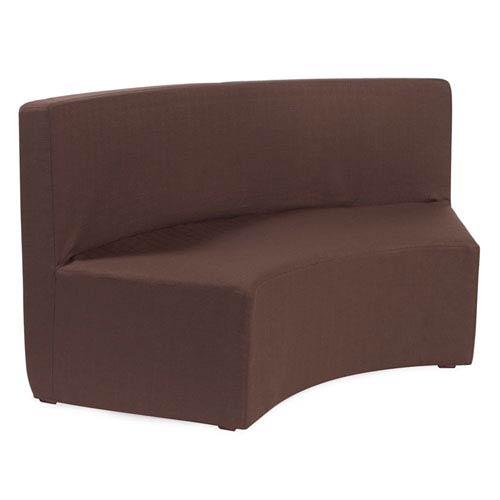 Radius Chocolate Brown Universal Incurve Bench
