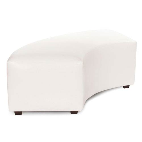 Howard Elliott Collection Avanti White Universal Radius Bench