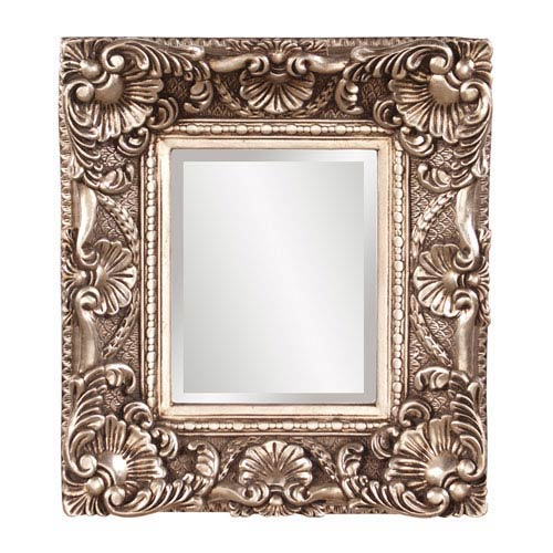 Howard Elliott Collection Horace Antiqued Silver Leaf Mirror