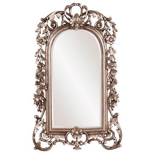 Sherwood Antiqued Silver Leaf Mirror