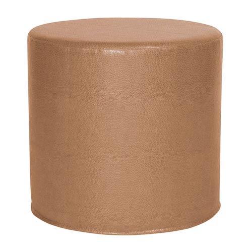 Avanti Bronze Tip Cylinder Ottoman