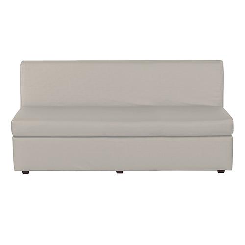 Howard Elliott Collection Luxe Mercury Slipper Sofa
